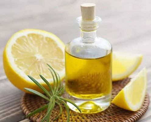 Almond oil has vitamin E property which is good for hair.
