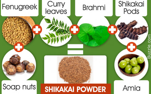 Shikakai powder contains many powerful herbal ingredients.