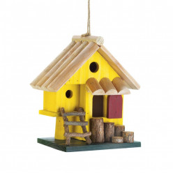 Painting, Design Helps Bird Houses to be Seen—Possibly Sold