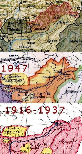 Eastern border transformed by British