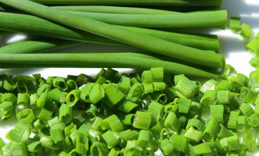 chopped scallions
