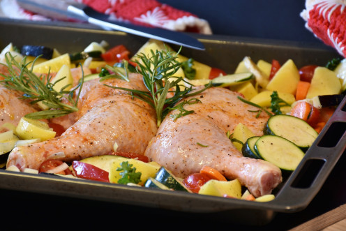 chicken drumstick with thyme