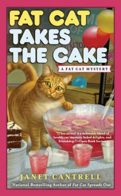 Book Review: Fat Cat Takes the Cake by Janet Cantrell