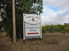 McLaren Vale winery...this way.