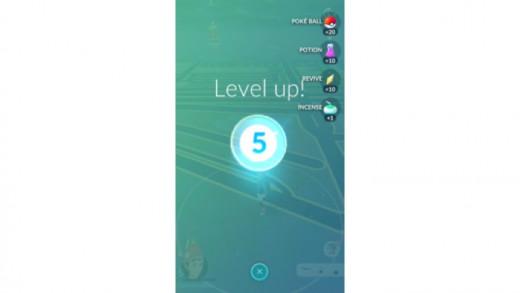 Pokemon Go Level 5!