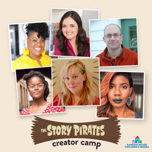 Renowned authors and illustrators for children to interact with and share story ideas