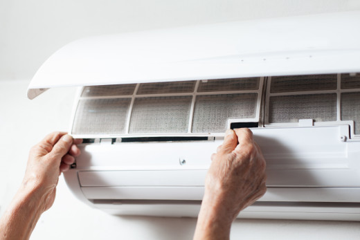 Ac vents need to be cleaned to prevent mold.