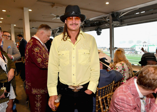 Kid Rock with beer in hand.