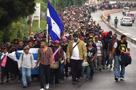 Illegal caravan coming to United states