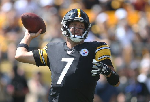 Quarterback Ben Roethlisberger has led the Steelers to three Super Bowls—so far.
