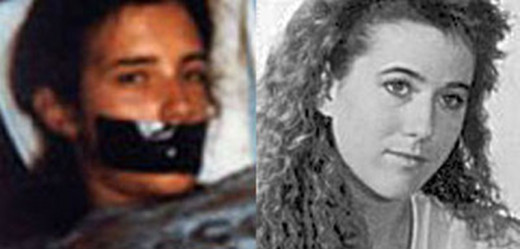 Polaroid photograph next to a photograph of Tara Calico who has been missing since September 1988.