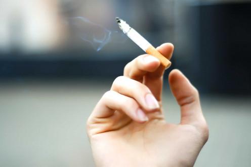 Smoking contributes to graying hair.