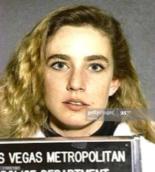 Dana Plato on her mad dissent downward.
