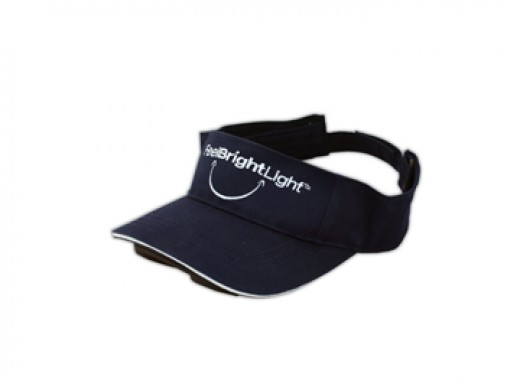 A light visor can improve your mood and beat the blues!