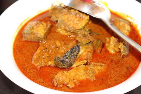 Spicy South Indian Fish Curry
