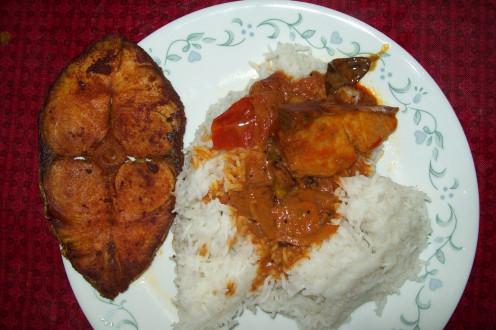 Enjoy both recipes with Rice or Roti