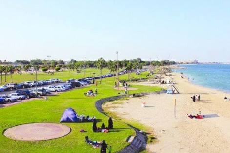 Palm Beach in El Arish,