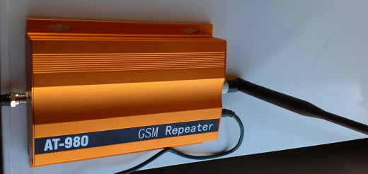 Boost cell phone service with a repeater amplifier.