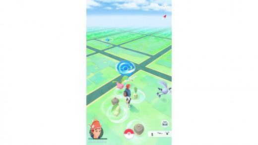 Pokemon Go Map View