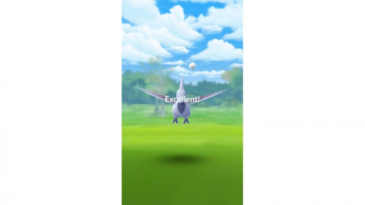 Pokemon Go Excellent Throw