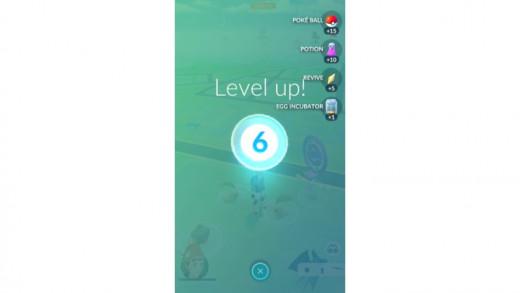 Pokemon Go Level 6