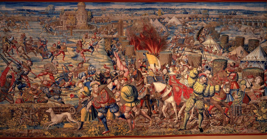 The Battle of Pavia was a decisive defeat for the French, although the Hapsburgs failed to properly exploit their victory