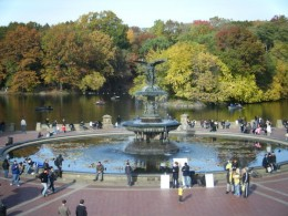 The Angel of the Waters Fountain, Central Park New York City