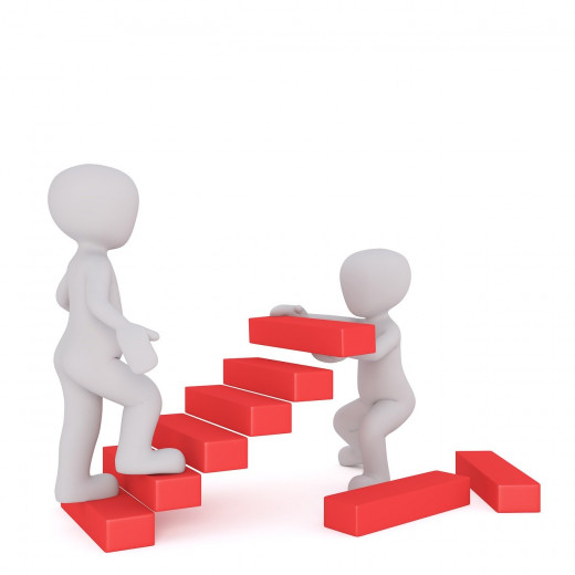 Always moving upward and onward with one another!