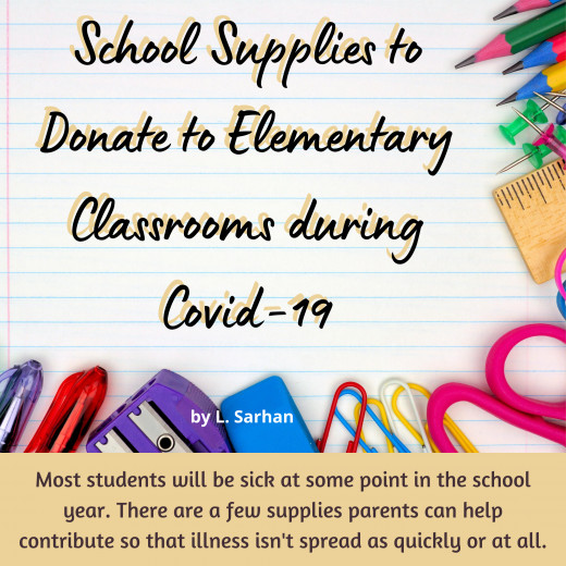 Donating classroom supplies each year helps out teachers and their students, but in the fall of 2020 there are added supplies needed to slow the spread of Covid-19.