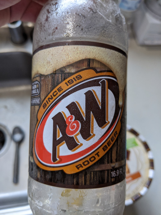 This is good root beer. Dad's is good as well.