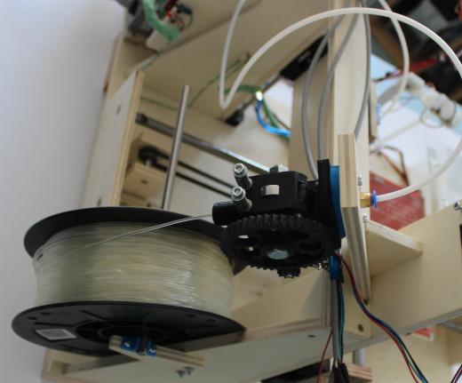 Plastic filament