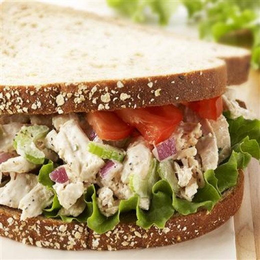onvldpuju: recipes and chicken salad sandwiches