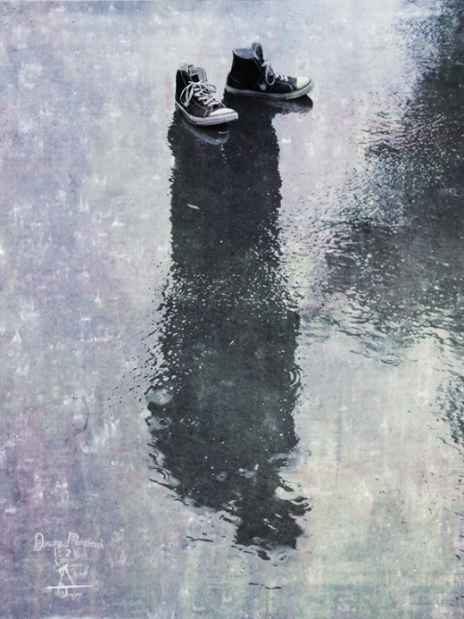 Digital image of The Invisible Man