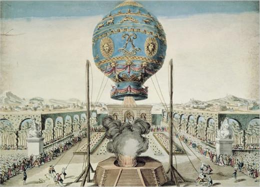 1783  First Hot Air Balloon Flight