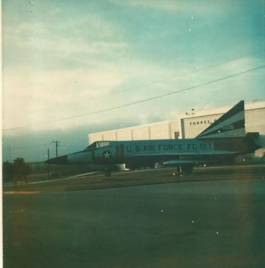 F-102 Medina AFB, TX, circa 1980