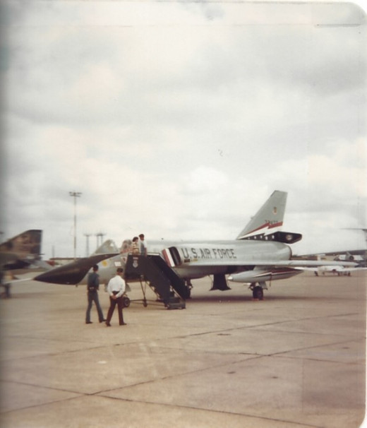 F-106 Randolph AFB, TX Circa 1980.