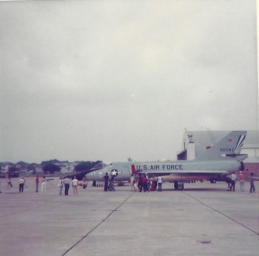 F-106 at Randolph AFB, May 1982