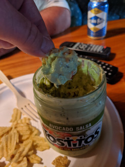 Chips With Avocado Salsa