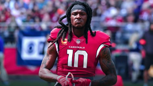 In one of the most questionable moves in the offseason the Texans sent DeAndre Hopkins and a 2020 4th rounder for RB David Johnson, a 2020 2nd rounder, and a 2021 4th rounder.
