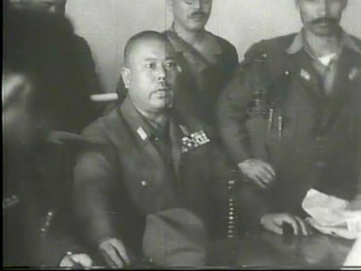 Gen Yamashita on trial