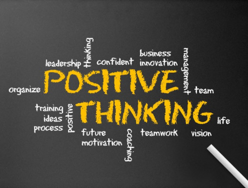 Lessen your negative thoughts, start thinking positively.