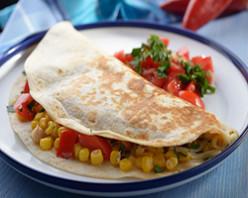 Corn and Sweet Onion Quesadillas Recipe