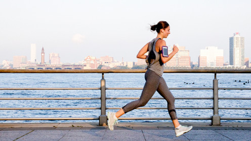 Exercising leads to a good mental health