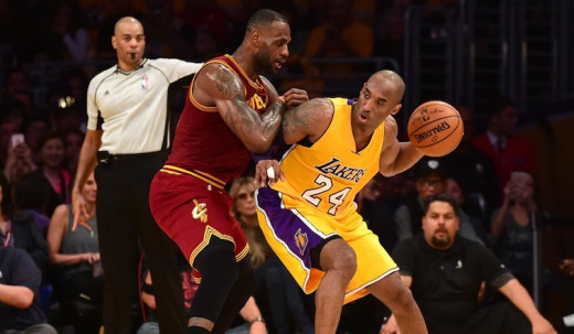 Kobe Bryant faces the Cavs one last time.