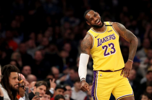 Lebron is now in his second year as a Laker.