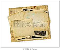 Bundle of old mail