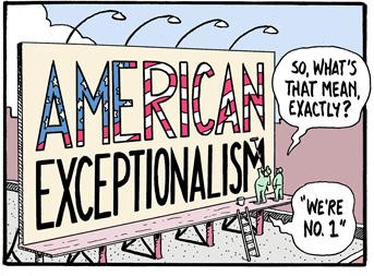 """""""American Exceptionalism"""" by Tim Eagan"""