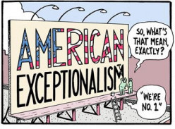 The Downfall of American Exceptionalism? an Overview