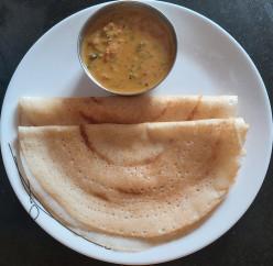Sabudana Dosa Recipe - Soft and Porous