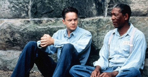 A scene from The Shawshank Redemption